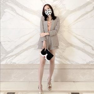 Alice + Olivia Other - NWT Alice and Olivia Stacey Bender Face Mask